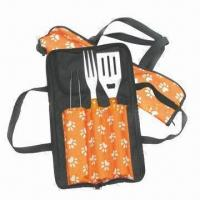 China Barbecue Tool Set, Includes Spatula and Fork wholesale