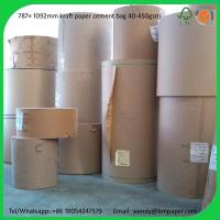 Buy cheap BMPAPER Brown Color Kraft Linerboard For Cartons for cement bags from wholesalers