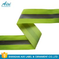 Buy cheap 100% Polyester Ribbons Reflective Safety Tape Single Sided With Offer Printing from wholesalers