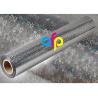 Holographic Metalized BOPP Film , BOPP Transparent Film Roll For Packing