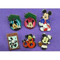 China Cute Mouse Hard Lapel Enamel Pins / Novelty Lapel Pins Custom / Color In Nickel Plating wholesale