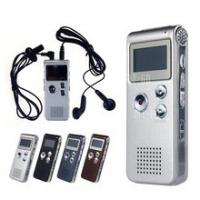 China Multifunctional 8GB Digital Voice Recorder Steel 650Hr Dictaphone MP3 Player on sale