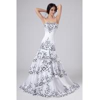 China 2013 Charming Strapless Satin Bridal Lace Wedding Gowns , Embroidered Mermaid Style on sale
