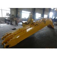 China Yellow Excavator Long Reach Boom for Komatsu PC240 Total 18 Meters Length wholesale