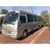 China 2010 Toyota Used Coaster Bus 30 Seats Diesel Engine LHD 71500 Km Mileage on sale