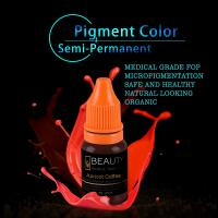 China Lip Tattooing Semi Permanent Makeup Ink Magic Wine Red Free Of Iron Oxides on sale