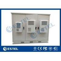 China Outdoor Telecom Assembled Base Station Cabinet Hot Dip Galvanized Steel Material on sale