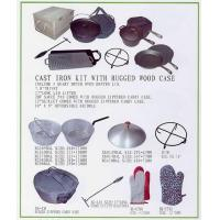 China cast iron camping set wholesale