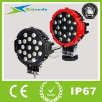 """China 7"""" 51W High quality Epistar ROUND LED Driving light for off-road TRUCK HEAVY DUTY etc 3700 Lumen 7511 wholesale"""