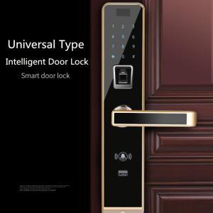 China Semiconductor Universal Fingerprint Code Lock , Smartphone Controlled Door Lock wholesale