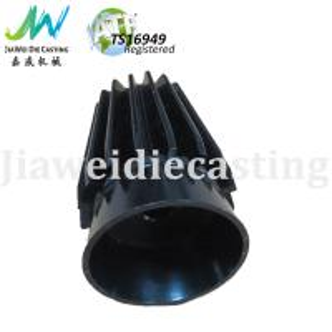 China Powder Coated Die Cast Lighting Parts , Customized LED Aluminum Housing on sale