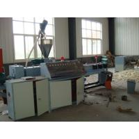 Buy cheap Corrugated Pipe Machine Single Wall Pvc Flexible Pipe Extrusion Line from wholesalers