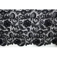 China Garment Accessories Chemical Lace Fabric  Water Soluble lace fabric in Different  Color on sale