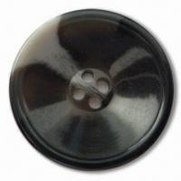 China Polyester Resin Button, Heavy Metal- and Phthalates-free, Customized Designs are Accepted wholesale