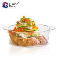 China Cheap clear eco-friendly ps material disposable plastic food container on sale