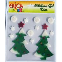 Different style Christmas window stickers, christmas gift