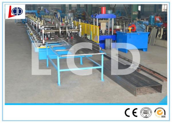 Quality Gear Driven Cable Tray Roll Forming Machine 350H Steel Frame 15m / Min Forming Speed for sale