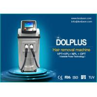 2017 KES new 640nm - 1200nm IPL Three cooling systems make treatment Hair Removal Machines
