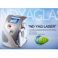 China Multifunctional Q Switched Nd Yag Laser Tattoo Removal Machine CE ISO13485 Approved wholesale