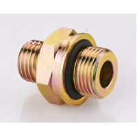China Brass DIN Hydraulic Fittings , O - Ring Metric Pipe Thread Fittings wholesale
