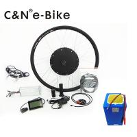 China 1000 Watt Fastest Off Road Electric Bike Conversion Kit Both Sides Power Off Brake wholesale