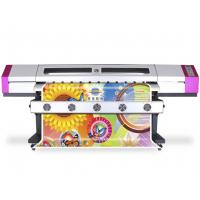 China Back - Lit Film 2.5M / 3.2M Eco Solvent Printing Machine CMYK 4 Color Printing on sale