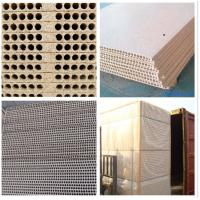 China hollow core particle board,tubular chipboard for door core wholesale