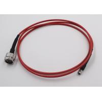 Test Application RF Cable Assembly N Connecotr To SMA Semi Flex Cable