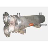 China Water Cooled Shell & Tube Titanium Heat Exchanger For Marine Engine / Boat Engine wholesale
