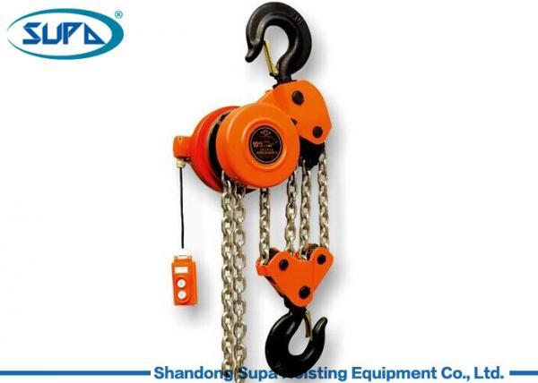 Quality Heavy Duty Motor 10 Ton Chain Hoist , Chain Electric Hoist For Building for sale