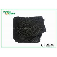 China Customized Soft Black Nonwoven Disposable Thongs For Male , ISO9001 Standard wholesale