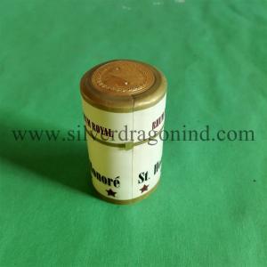 OEM PVC shrink capsules with tear strip