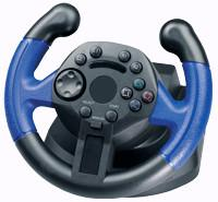 China Mini Wired USB Laptop / Playstation2 Steering Wheel With Vibration wholesale