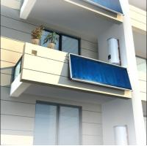 China split pressure solar water heater on sale