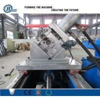 China C Channel Stud And Track Roll Forming Machine For GI steel 0.4-1.0mm Thickness wholesale