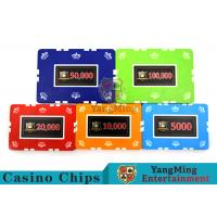 12g Leaf Design Clay Poker Chip With Custom Sticker 760 PCS With Aluminum Casio Case for sale