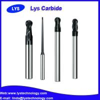 China 2 Flute Ball nose Solid Carbide End Mills - for steel and cast iron wholesale