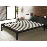 China Sturdy Steel Frame Double Bed With Corner And Floor Protector Modern Bedroom Furniture wholesale