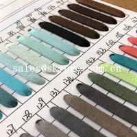 China Colourful car chamois leather classic embossed design eco friendly wholesale