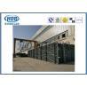 China H mecanografía el ahorrador de condensación de acero del cambiador de calor para la caldera con el combustible del carbón wholesale