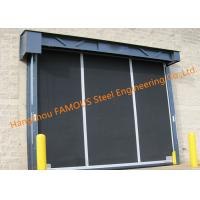 Extra-large Commercial Rubber Garage Doors Industrial-strength High Speed Roll Up Rubber Doors