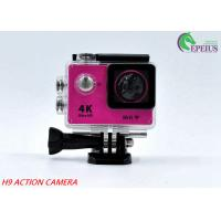 China 30M Waterproof 4k Sports Action Camera Original H9 170 Degree With USB 2.0 wholesale