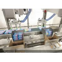 China Fully Automatic Case Packer Machine For Aerosol Can / Tin Can Encasing wholesale