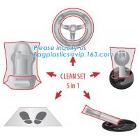 China Protective Automobile Products Steering Wheel Cover Protector Set Steering Wheel wholesale