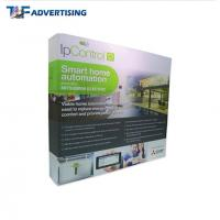 China Custom Printed Trade Show Backdrop Displays , Portable Exhibition Displays Flame Resistant wholesale