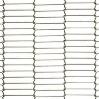 China Strand Wire Woven Mesh,'C' type Wire Woven Decorative Metal,Window Curtains,Partition on sale