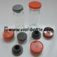 China Empty 10ml Glass Bottle, Rubber Stopper And Colored Flip Off Tops wholesale