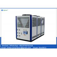 China CE Certification 25tr Plastic Industry 30hp Air Cooled Water Chiller for Extruder wholesale