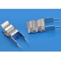 China Copper H62 Electronic Fuse Clip Clamps 0.4mm Thickness , Nickel Plating Electroplating Material on sale