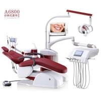 China Portable Dental Chair Unit 4 Memory Position Control With Digital Touch Control System wholesale